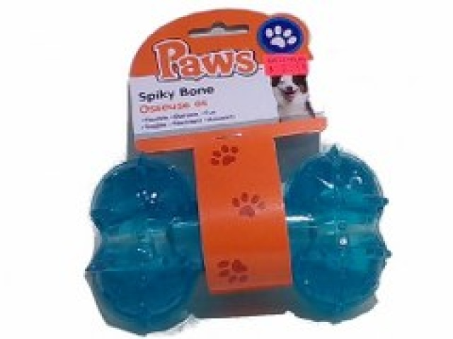 Paws 5.5 Large Spikyu Bone 4 colors\