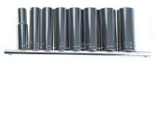 9pc 3/8 Deep Socket Set Metric\
