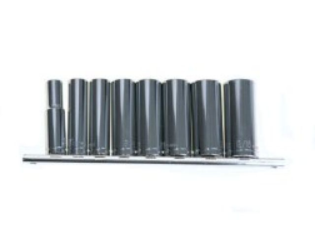 9pc 3/8 Deep Socket Set S.a.e.\
