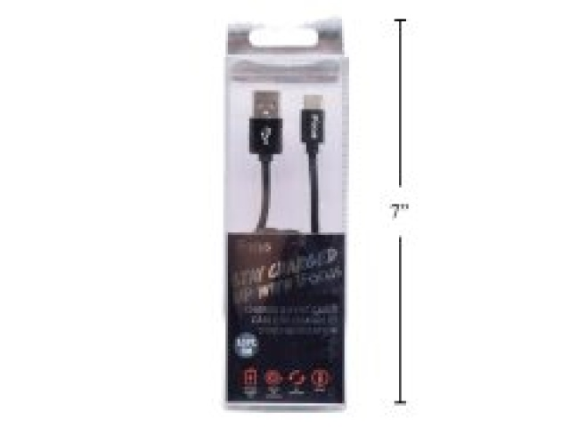 Cable Type-C charge and sync black 1 meter iFocus
