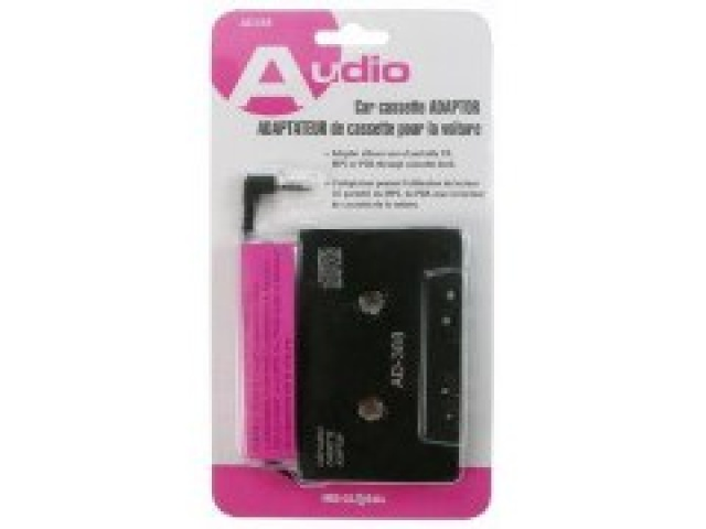Car cassette adaptor 3.5mm to cassette player