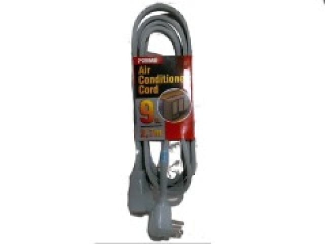 Extension cord 14/3 9 foot 2.7m for air conditioner