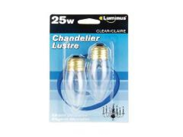 Luminus 25w Chand Med Base . clr 12x2