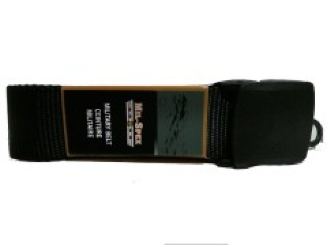 Belt 48 inch military black dress belt