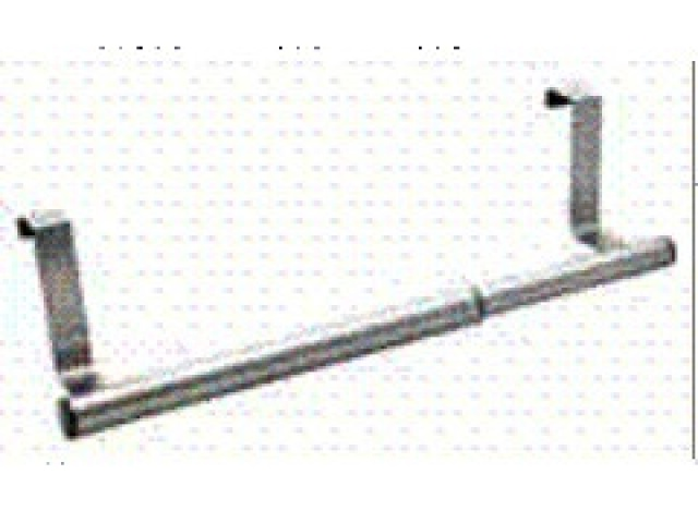Extendable s.s. towel bar