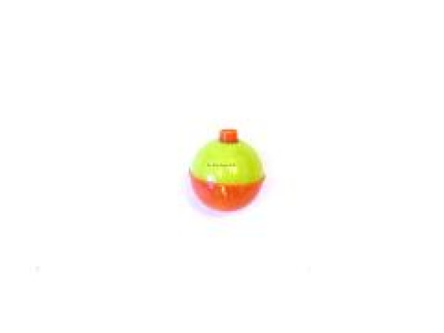 Snap-on Round Float Orange/Yellow 1-1/2\